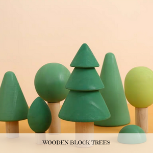 [Ready Stock] Wooden Trees (Set of 6)