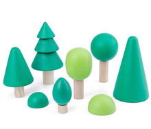 Load image into Gallery viewer, [Ready Stock] Wooden Trees (Set of 6)