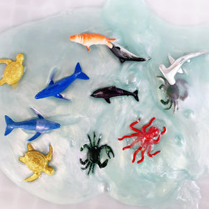 [Ready Stock] Sea Animals Water Slime (Non sticky)