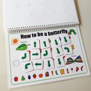 [Ready Stock] The Hungry Caterpillar Quiet Book