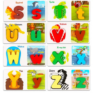 [Ready Stock] Alphabet ABC / Numbers Matching Puzzle