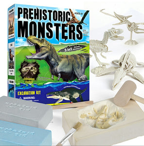 Mining Kit - Form Your Own Dino (3 Dinos)