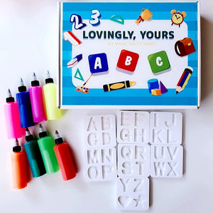 [Ready Stock] The Alphabet and Numbers Magic Water Babies Set