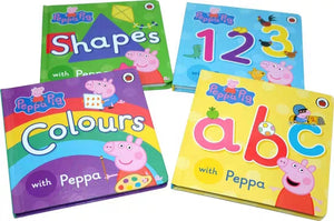 Learn With Peppa Box Of Books (Set of 4)