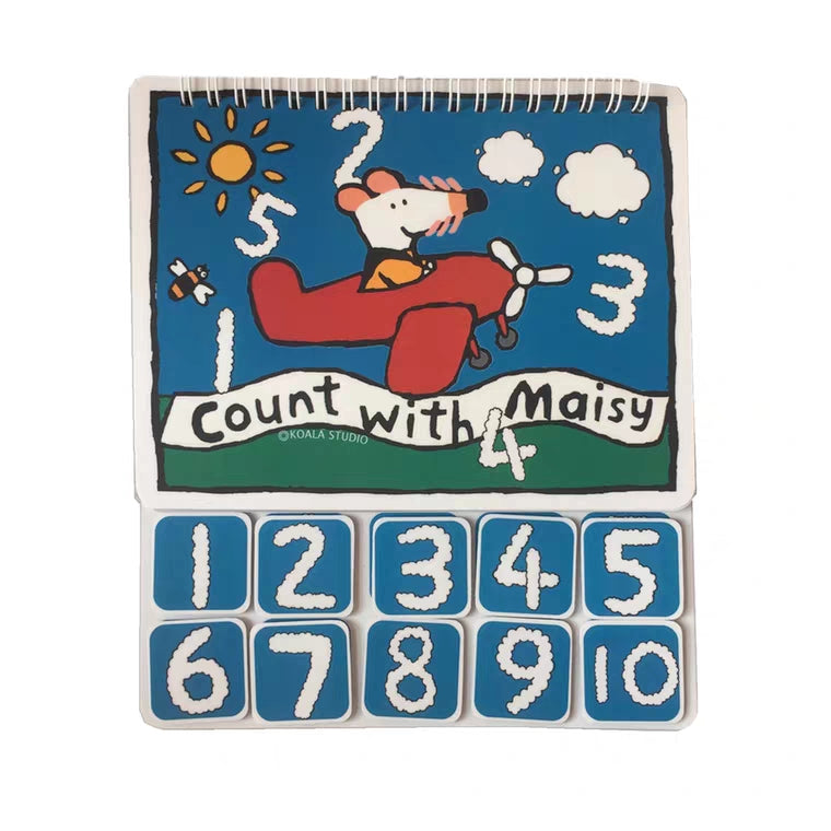 [Ready Stock] Count with Maisy - Learning 1-10 (10 pages)