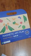 Load and play video in Gallery viewer, Magnetic Art Play Food Puzzle