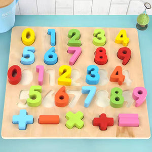 Alphabet ABC / Numbers Lift and Fit Puzzle