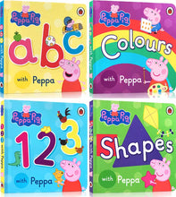 Load image into Gallery viewer, Learn With Peppa Box Of Books (Set of 4)