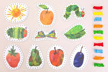 Load image into Gallery viewer, The Very Hungry Caterpillar Lacing Cards