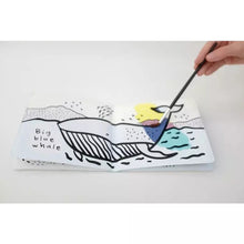 Load image into Gallery viewer, Colour Me Watercolour Book - Who's In The Ocean & Who's In The Pond