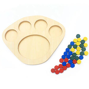 Montessori Colour Sorting Board