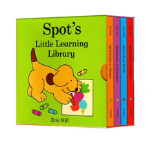 Load image into Gallery viewer, Spot's Little Learning Library (Set of 4)