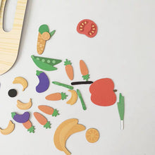 Load image into Gallery viewer, Magnetic Art Play Food Puzzle