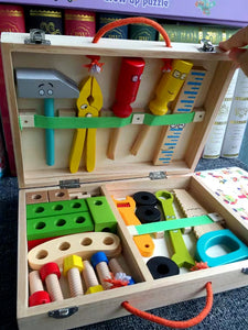 [Ready Stock] Pretend Play Construction Tool Kit