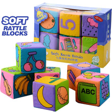 Load image into Gallery viewer, [Ready Stock] Soft Rattle Blocks