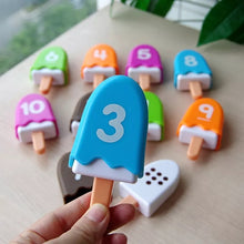 Load image into Gallery viewer, Numbers Popsicles Ice Cream