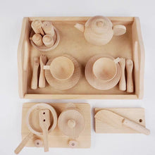 Load image into Gallery viewer, [Ready Stock] Montessori Inspired Pretend Play Kitchen Tea Set