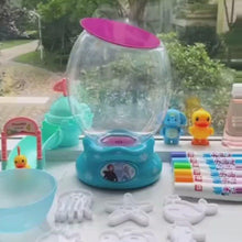Load and play video in Gallery viewer, [Ready Stock] The Second Gen Magic Water Babies Bubbling Machine