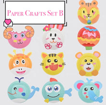 Load image into Gallery viewer, [Ready Stock] DIY Paper Plate Crafts (3 Different Sets)