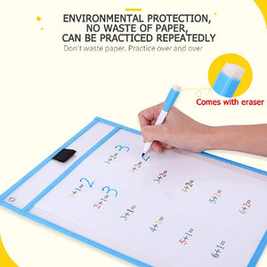 [Ready Stock] Reusable Worksheet Pockets