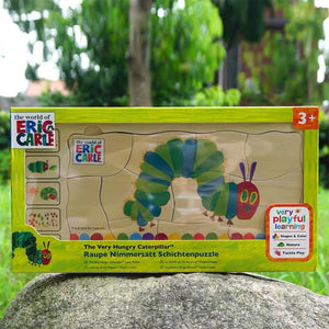 [Ready Stock] The Very Hungry Caterpillar Jigsaw Layered Puzzle