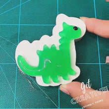 Load and play video in Gallery viewer, [Ready Stock] DIY Glow In The Dark Dino Kit II