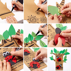 DIY 10 Minutes Paper Craft (Set of 2)
