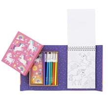 Load image into Gallery viewer, [Ready Stock] Unicorn Magic Tiger Tribe Colouring Set