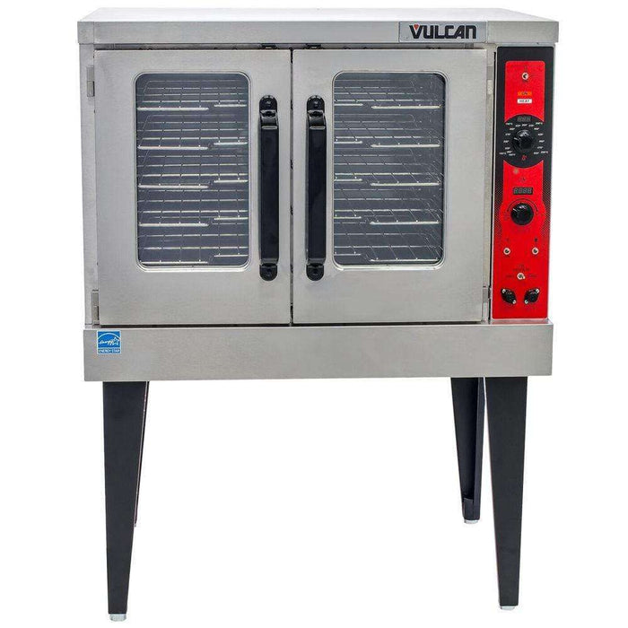 Vulcan VC5GD Single Full Size Natural Gas Convection Oven - 50,000 BTU