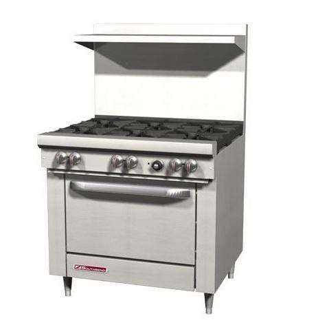 "Southbend S36D 36"" 6 Burner Gas Range, Natural Gas"