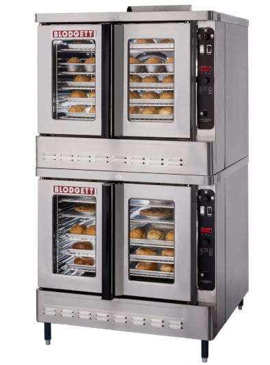 Blodgett DFG-100 Double Full Size Natural Gas Convection Oven - 55,000 BTU