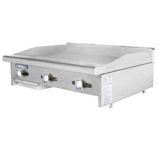 "Turbo Air TAMG-36 36"" Gas Griddle - Manual, 3/4"" Steel Plate, Natural Gas"
