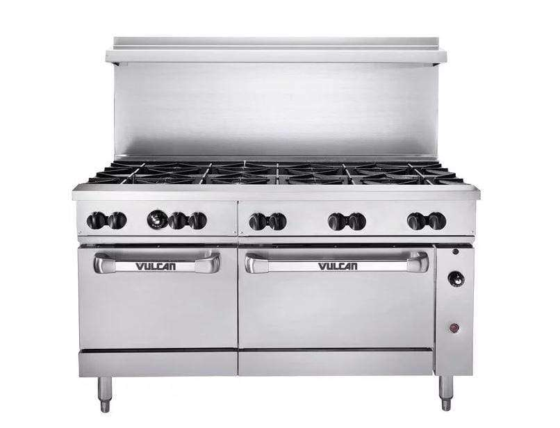 "Vulcan 60SS-10B 60"" 10 Burner Gas Range, Natural Gas"