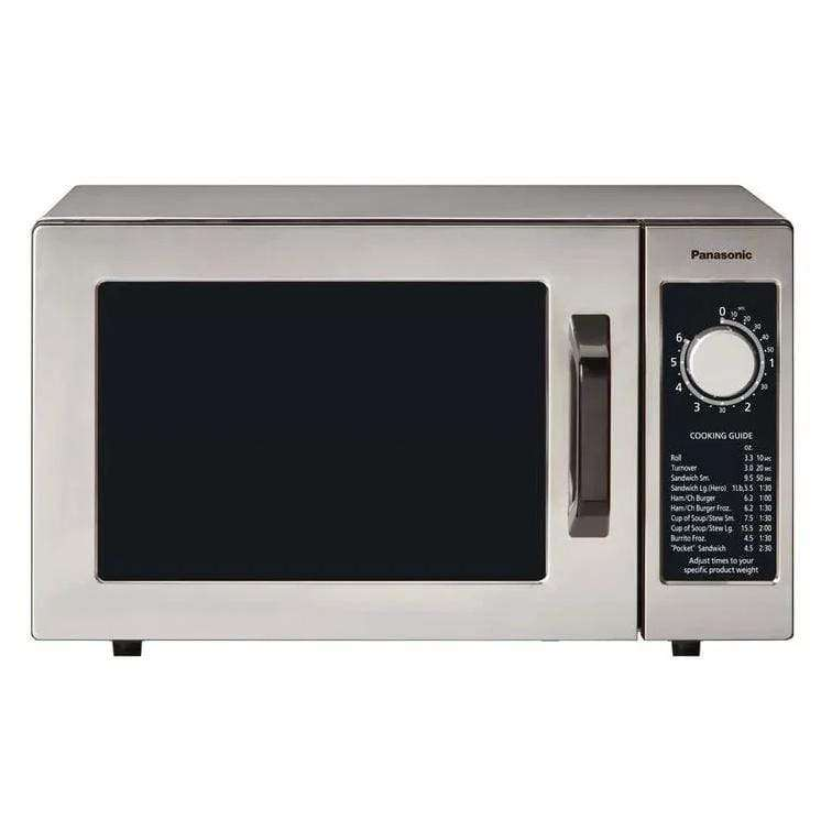 Panasonic NE-1025F 1000w Pro Commercial Microwave with Dial Control, 120v