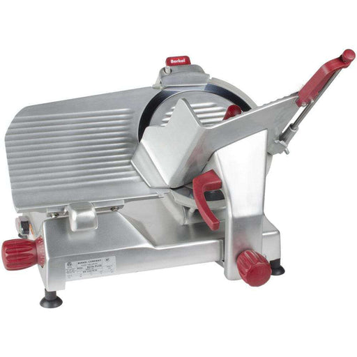 "Berkel 827A-PLUS 12"" Round Manual Slicer w/ Angled Gravity Feed & Sharpener, 115v"