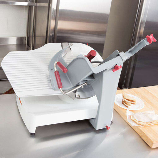 "Berkel X13AE-PLUS Premier Auto Food Slicer w/ 13"" Round Stainless Knife, Gravity Feed, 115v"