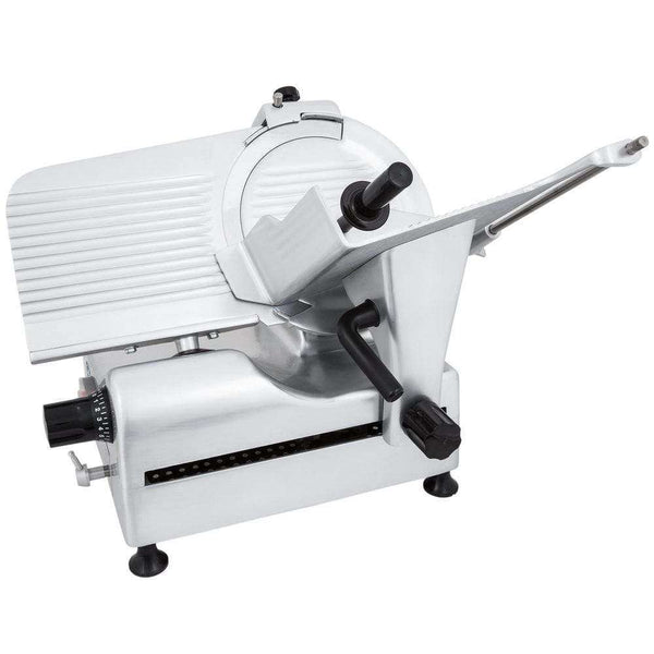 "Globe G12A 12"" Automatic Food Slicer w/ Knife Sharpener, Aluminum"