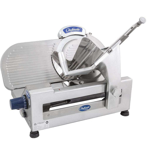 "Globe Chefmate GC512 12"" Manual Gravity Feed Slicer - 1/3 hp"
