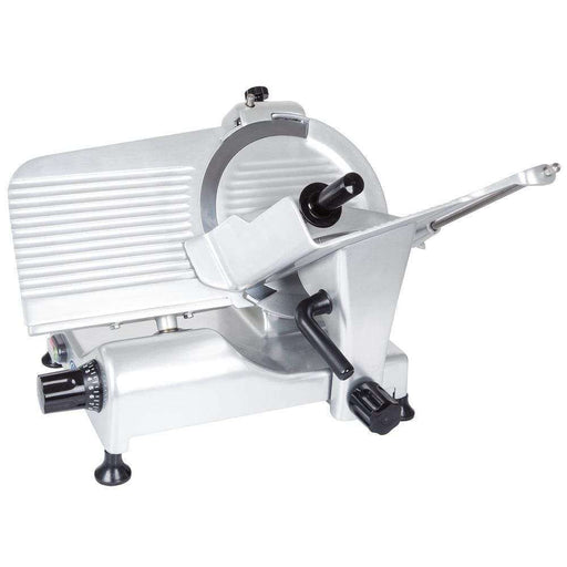 "Globe G10 10"" Manual Food Slicer w/ Knife Sharpener, Aluminum, 115v"
