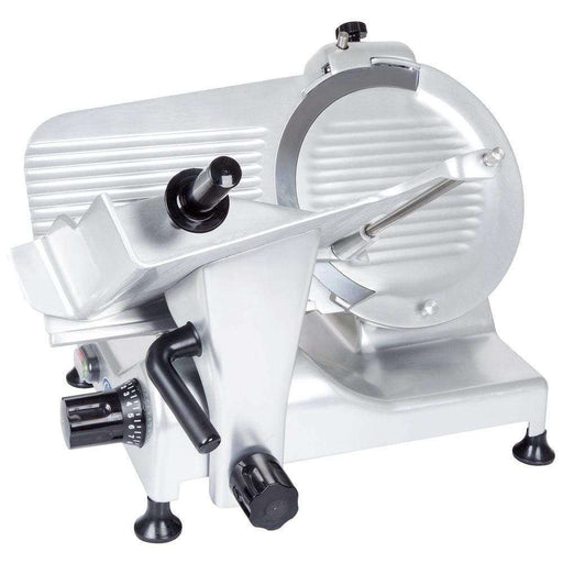 "Globe G14 14"" Manual Food Slicer w/ Knife Sharpener, Belt Driven"