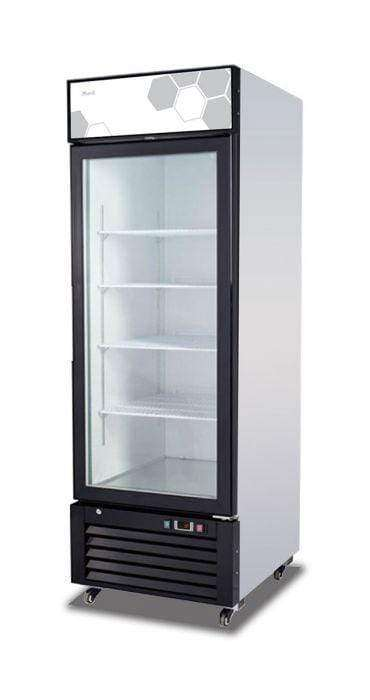 Migali - C-23FM-HC 23 cu/ft Glass Door Merchandiser Freezer