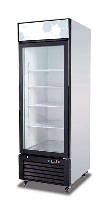 Migali - C-23RM-HC 23 cu/ft Glass Door Merchandiser Refrigerator