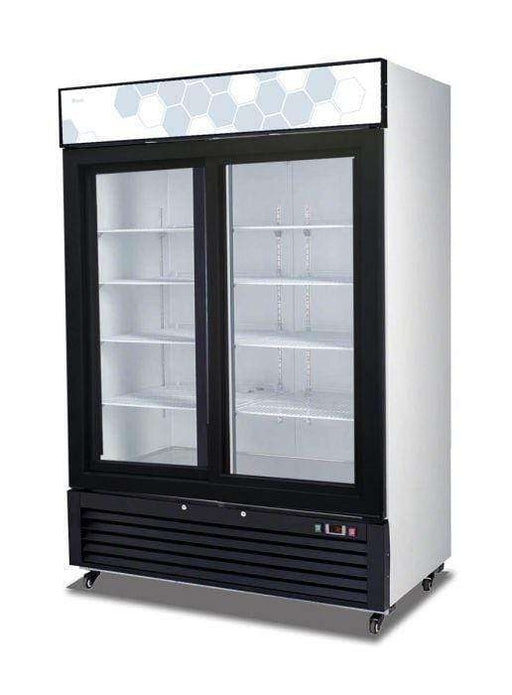 Migali - C-49RS-HC 49 cu/ft Sliding Glass Door Merchandiser Refrigerator