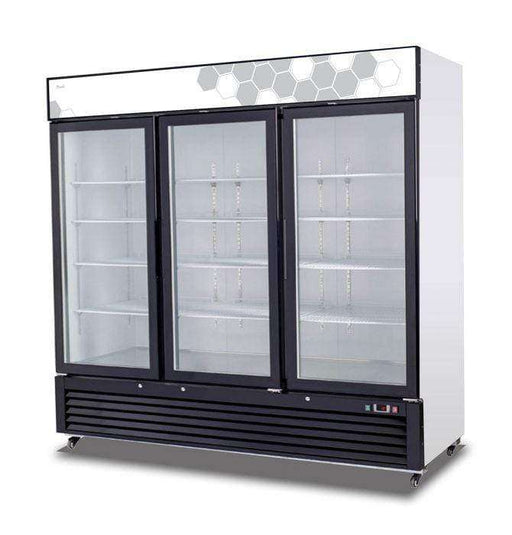 Migali - C-72FM 72 cu/ft Glass Door Merchandiser Freezer
