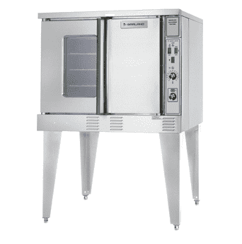 Garland SUMG-GS-10ESS Summit Single Full Size Natural Gas Convection Oven - 53,000 BTU