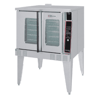 Garland MCO-GS-10-ESS Master Single Full Size Natural Gas Convection Oven - 60,000 BTU