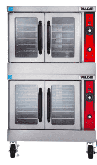 Vulcan VC44GD Double Full Size Natural Gas Convection Oven - 50,000 BTU