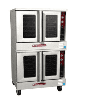 Southbend GS/25SC MarathonerGold Double Full Size Natural Gas Convection Oven - 180,000 BTU