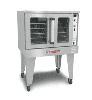 Southbend SLGS/12SC SilverStar Single Full Size Natural Gas Convection Oven - 72,000 BTU
