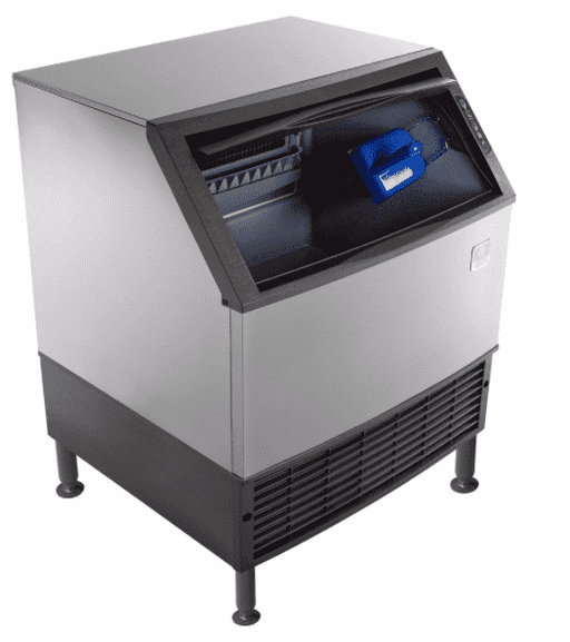 "Manitowoc UYF-0310A NEO 30"" Air Cooled Undercounter Half Dice Ice Machine with 119 lb. Bin - 115V, 295 lb."